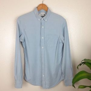 Old Navy Baby Blue The Oxford Shirt